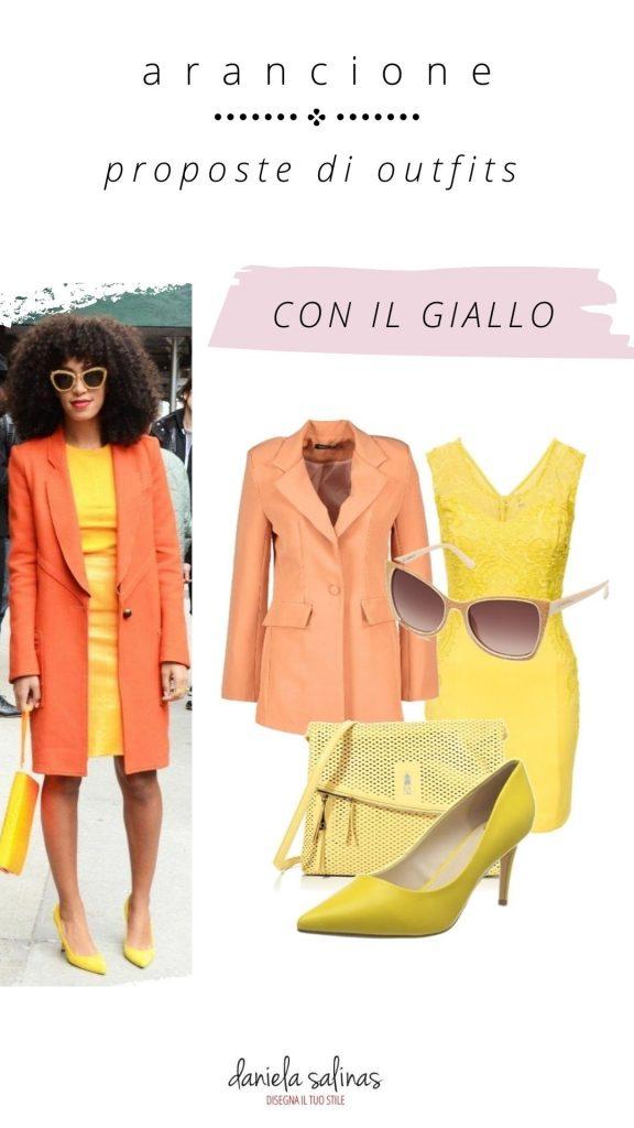 giallo e arancione