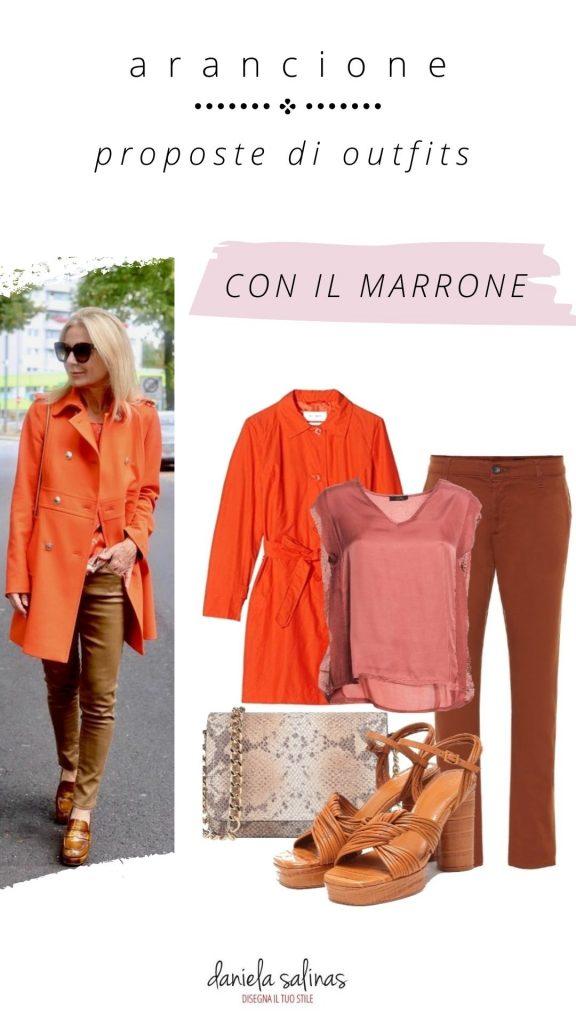 Marrone e Arancione