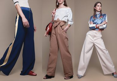 I pantaloni modello palazzo