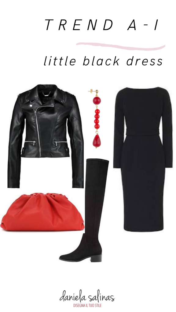 Overknee e abito nero
