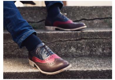 Le scarpe Oxford