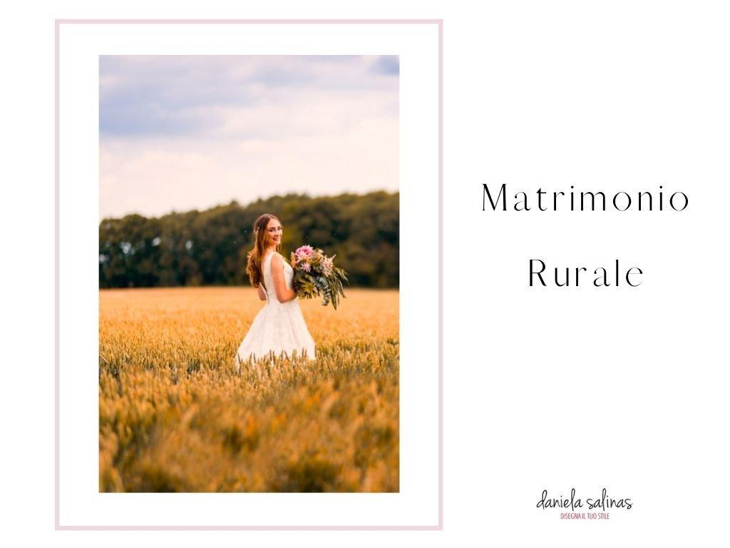 Outfit da matrimonio per una location rurale