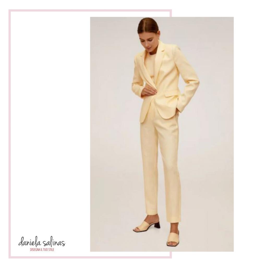 Tailleur in lino per il tuo outfit da lavoro